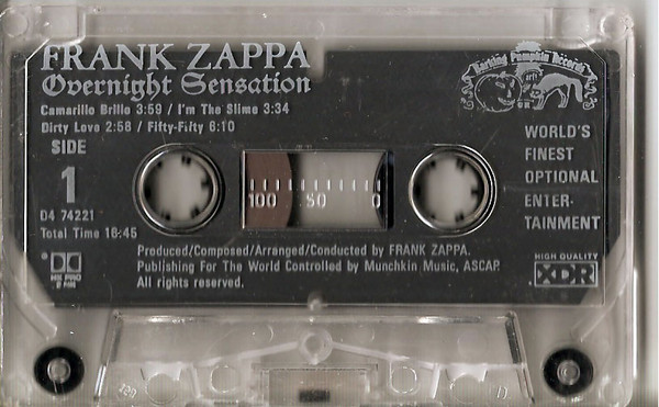 Frank Zappa - Dirty Love