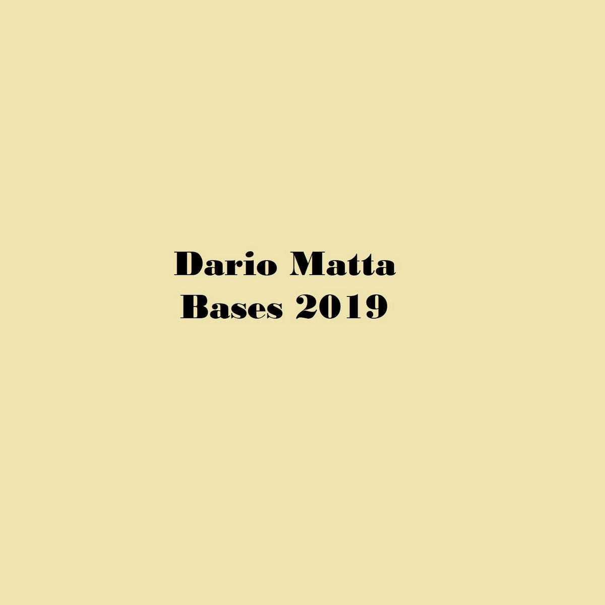 Dario Matta Bases 2019